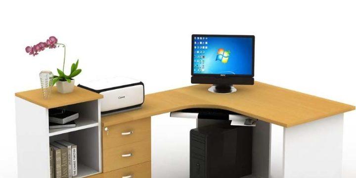 mẫu bàn làm việc văn phòng