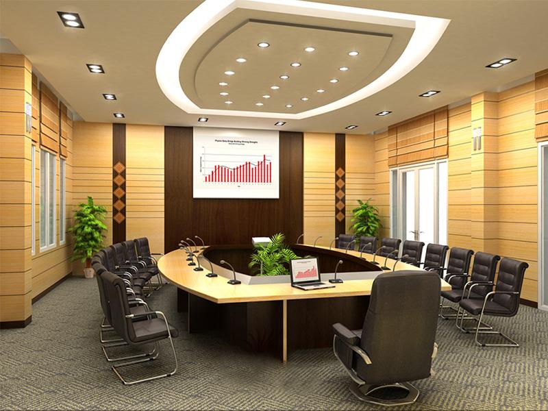 Mẫu bàn phòng họp đẹp