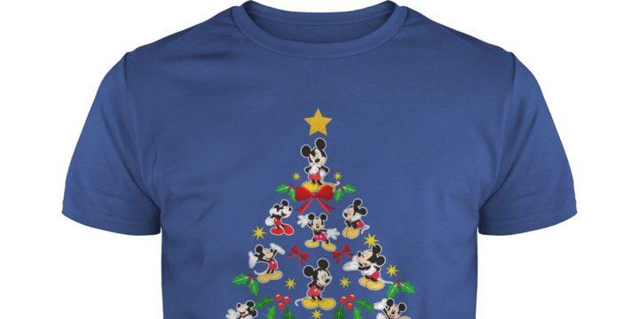 Mickey Mouse Christmas Tree shirt