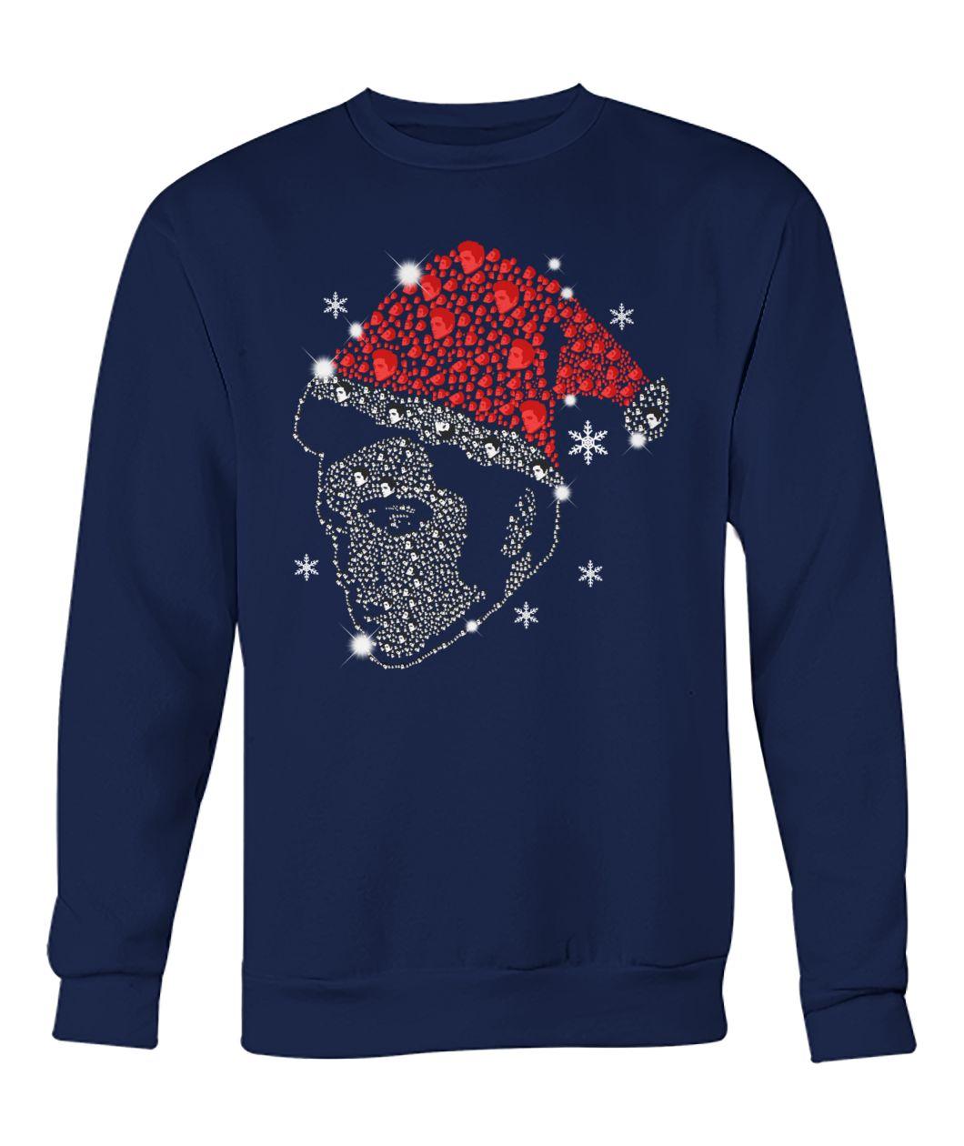 Rhinestone Christmas Elvis Presley sweatshirt
