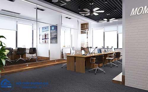 Thiết kế nội thất văn phòng có không gian mở