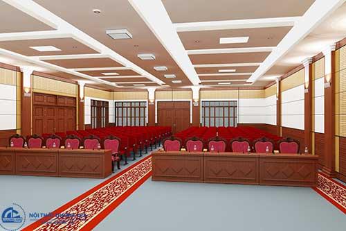 Những mẫu bàn ghế hội trường Hòa Phát có tính thẩm mỹ cao