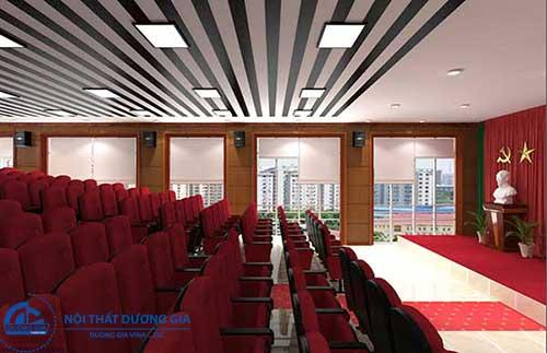 Hé lộ những tiêu chuẩn thiết kế hội trường dành cho 200 chỗ ngồi