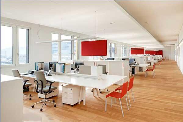 Những nét chung về thiết kế văn phòng đa năng