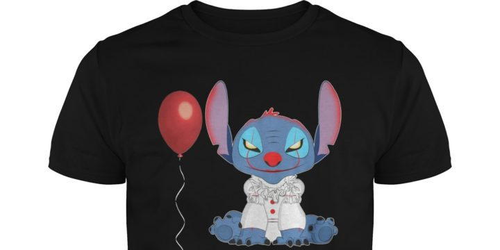 Stitch and Pennywise shirt