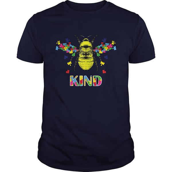 Austism bee kind shirt