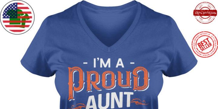 I'm a proud aunt of smartass nephew shirt