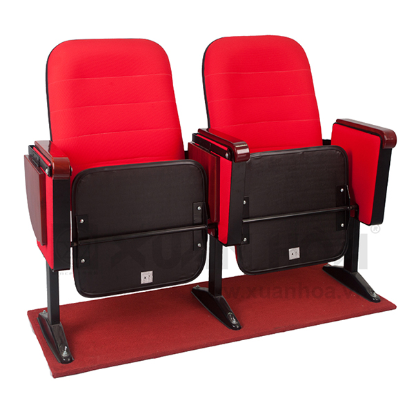 Chọn sản phẩm ghế hội trường Xuân Hòa thông qua chất liệu